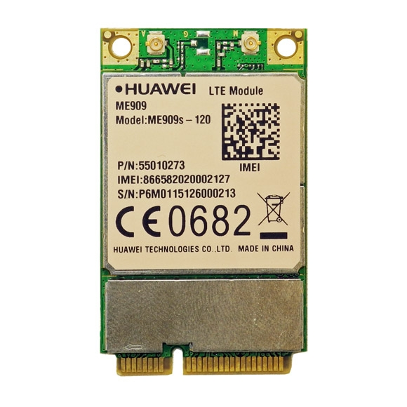 Huawei ME909s-120 LTE Mini-PCIe Modem HSPA//UMTS//EDGE//LTE 4g Card Cat4