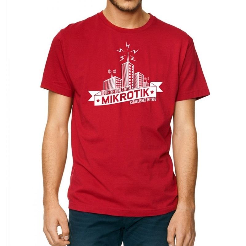 Mikrotik Red T Shirt S Size Mtts