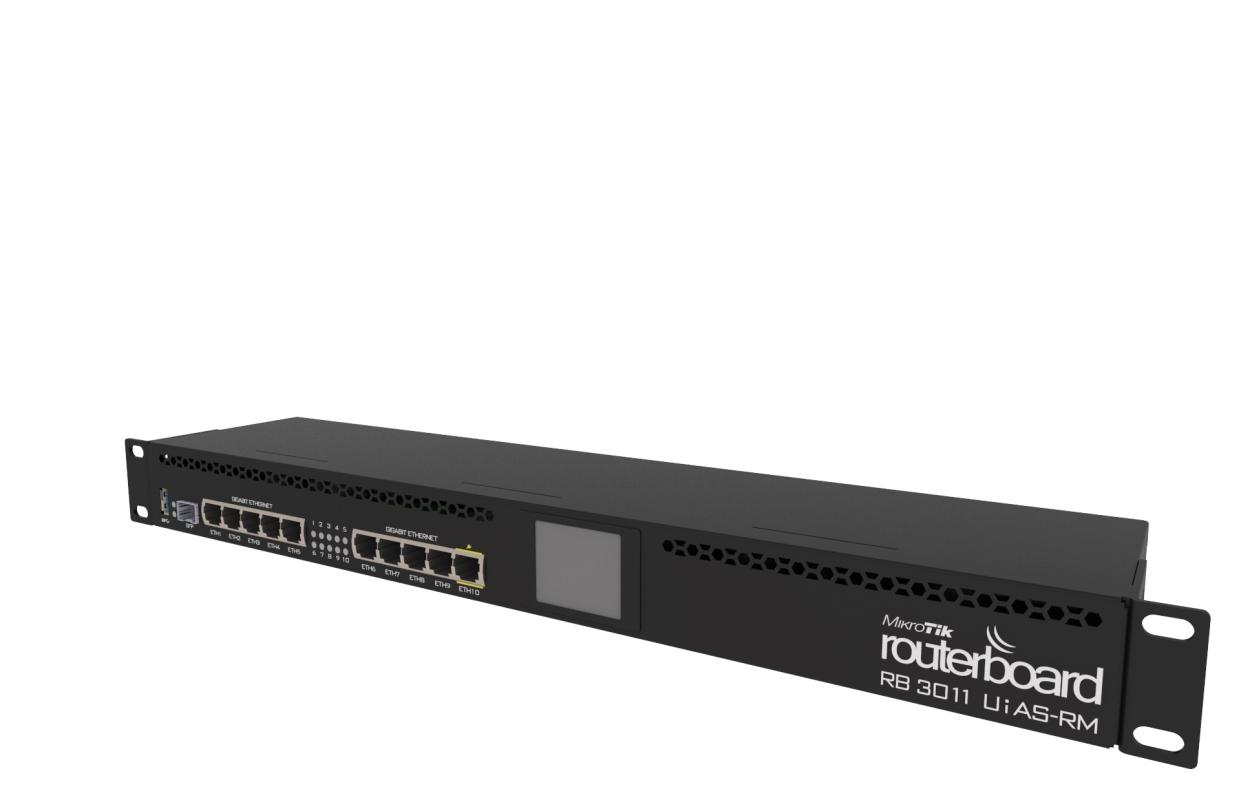 MIKROTIK RB3011UiAS-RM (RouterOS Level 5)