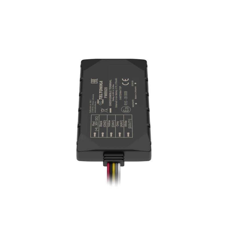 Teltonika FMB204 Batterie Professional Waterproof tracker avec bluetooth dernière