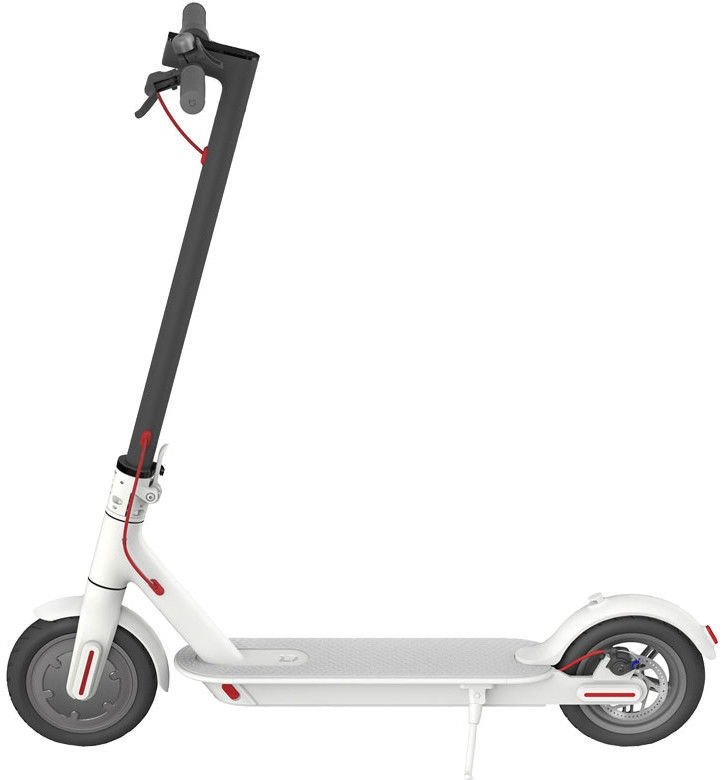 original xiaomi mi m365 electric scooter white the. Black Bedroom Furniture Sets. Home Design Ideas
