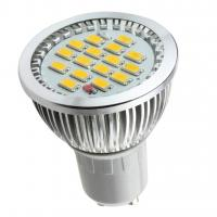 GU10 16 SMD 5630 LED 5.5W BULB with glass cover