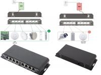 8 port PoE Switch with 7 PoE ports